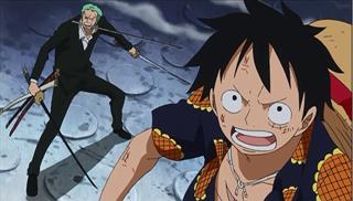 [繁] One Piece海賊王 /航海王 第 670話 - 龍之爪炸裂!路西驚人的一擊