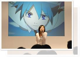 「銀色のオリンシス」「貧乏姉妹物語」「神様家族」3作品の合同ライブステージ!